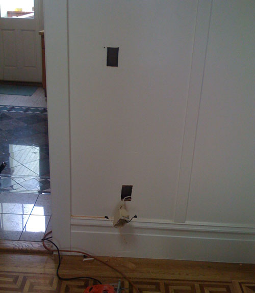 Replacing Old Knob and Tube Wiring San Francisco Victorian Restoration