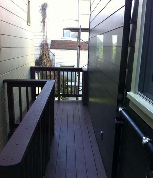 Back deck complete