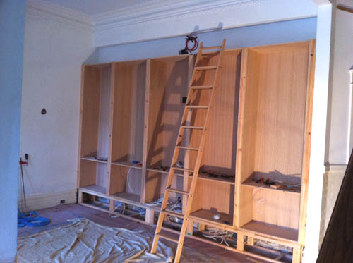 Library Bookcases Done