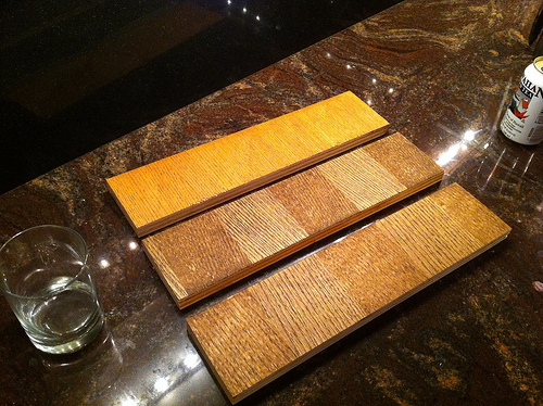 Oak Color Samples