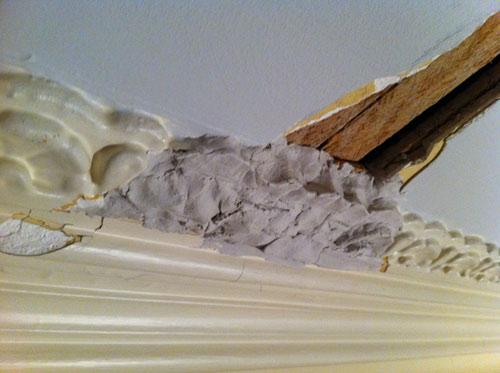 Repairing Victorian Crown Molding