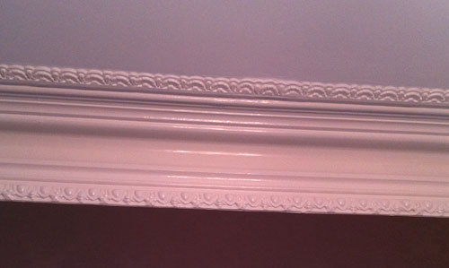 Victorian Molding Repaired
